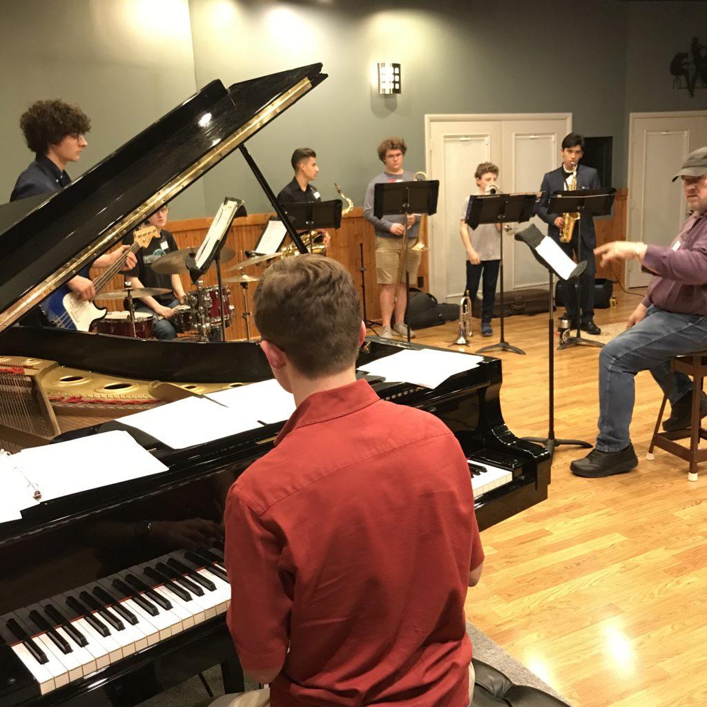 Rehearsal, Recording and Masterclass