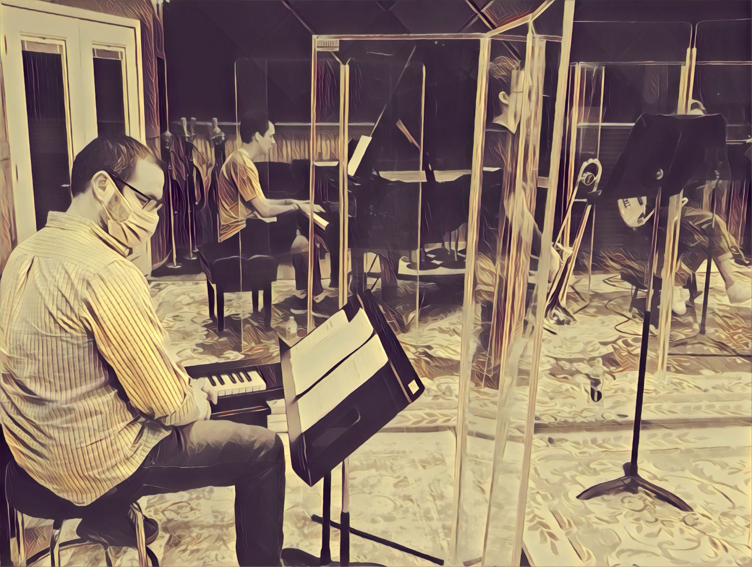 2020 Season COVID-19 Mitigation Jazz at BRC Audio Productions #digitalart