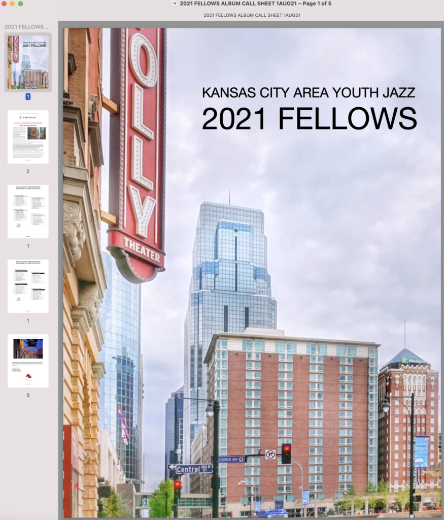 2021 FELLOWS SESSIONS 1AUG21