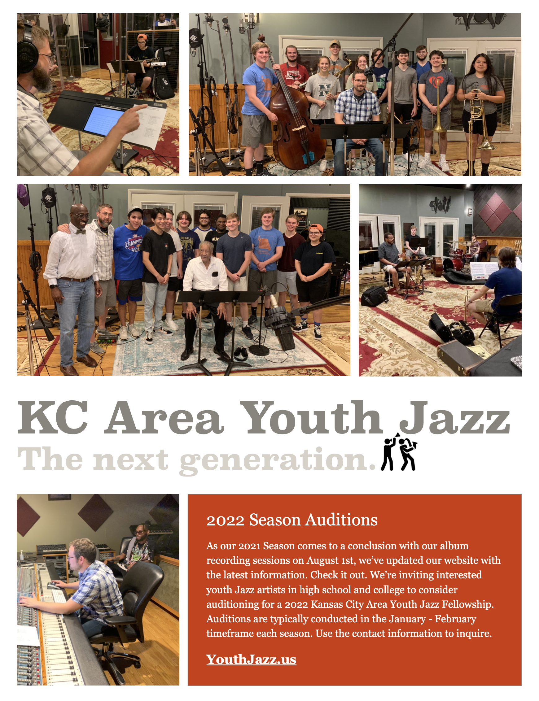 2022 KCAYJ AUDITIONS